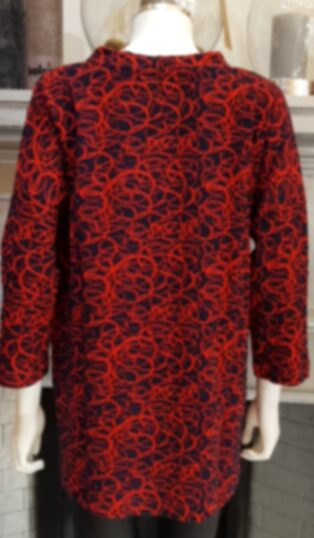Adini – Beverley Tunic – Red & Black