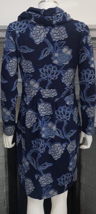 Lily & Me – Dee Dress Kimono Print – Navy