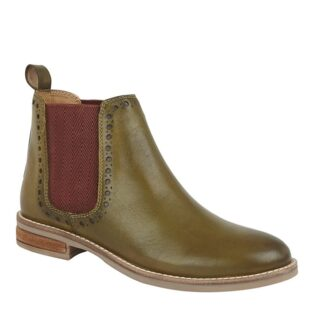Cipriata – Lidia Ankle Boot – Olive Green Leather