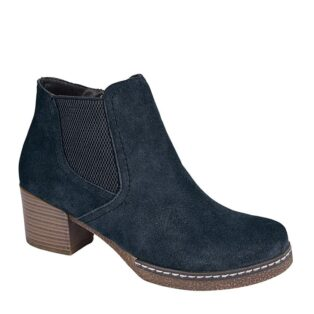 Cipriata – Mona Lisa Suede Ankle Boot – Navy