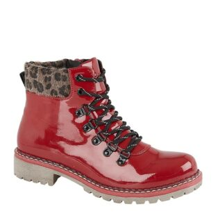 Cipriata – Africa Patent Boot – Red