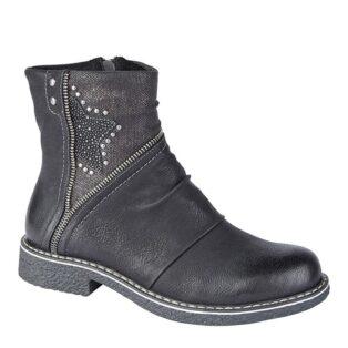 Cipriata – Constanza Ankle Boot – Black
