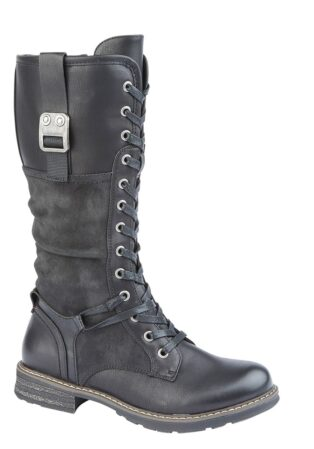 Cipriata – Gabriela 3/4 Length Boot – Black