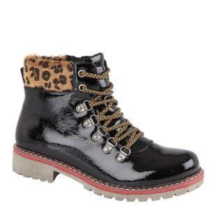 Cipriata – Africa Patent Boot – Black