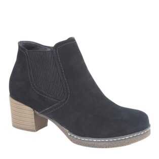 Cipriata – Mona Lisa Suede Ankle Boots – Black