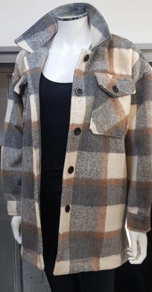 Diverse – Fliss Lumberjack Jacket – Mixed Check