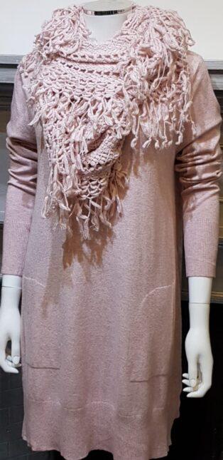 Diverse – Flora Tunic/Dress – Melange Pink