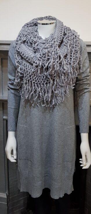 Diverse – Flora Tunic/Dress – Grey Melange