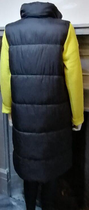 Vero Moda Uppsala 3/4 Waistcoat – Black