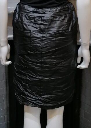 Diverse – Francine P.U Skirt – Black