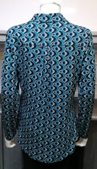 Pomodoro – Geometric Shirt – Teal