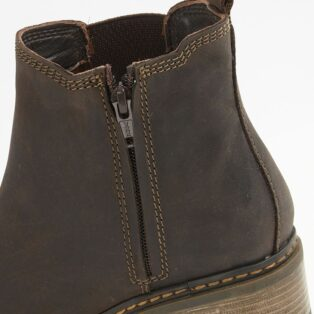 Cipriata – Calico Waxy Leather Ankle Boot – Brown