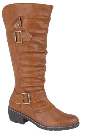 Cipriata – Camelia High Leg Boot – Tan