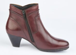 Cipriata – Cleo Leather Ankle Boot – Burgundy