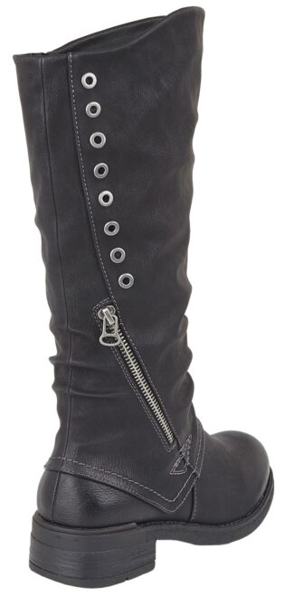 Cipriata – Sasha High Leg Boot – Black