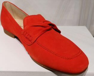 Gabor – Suede Loafers – Samtchevreau Koralle