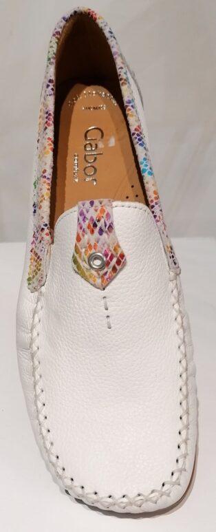 Gabor – Loafers Cervo/Python Hawaii – White with Python