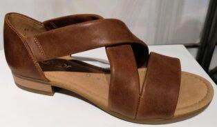 Gabor – Vacchetta Soft Leather Sandal – Peanut
