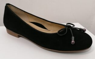 Ara – Samtchevro Ballet Pump – Black – (Duplicate Imported from WooCommerce)