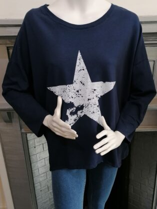 Diverse – Harbour Star Sweat Top – Navy
